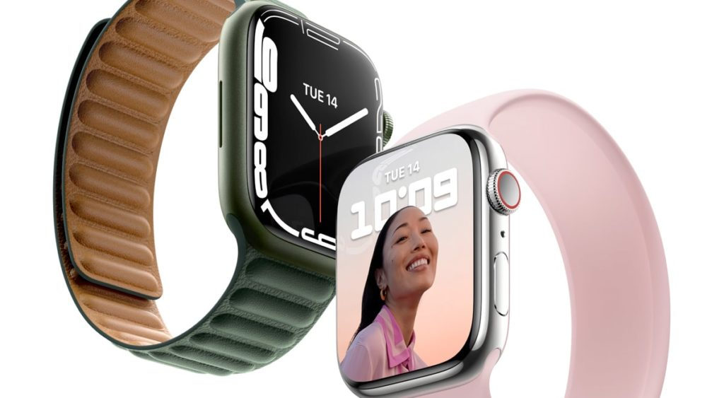 Two Apple Watches